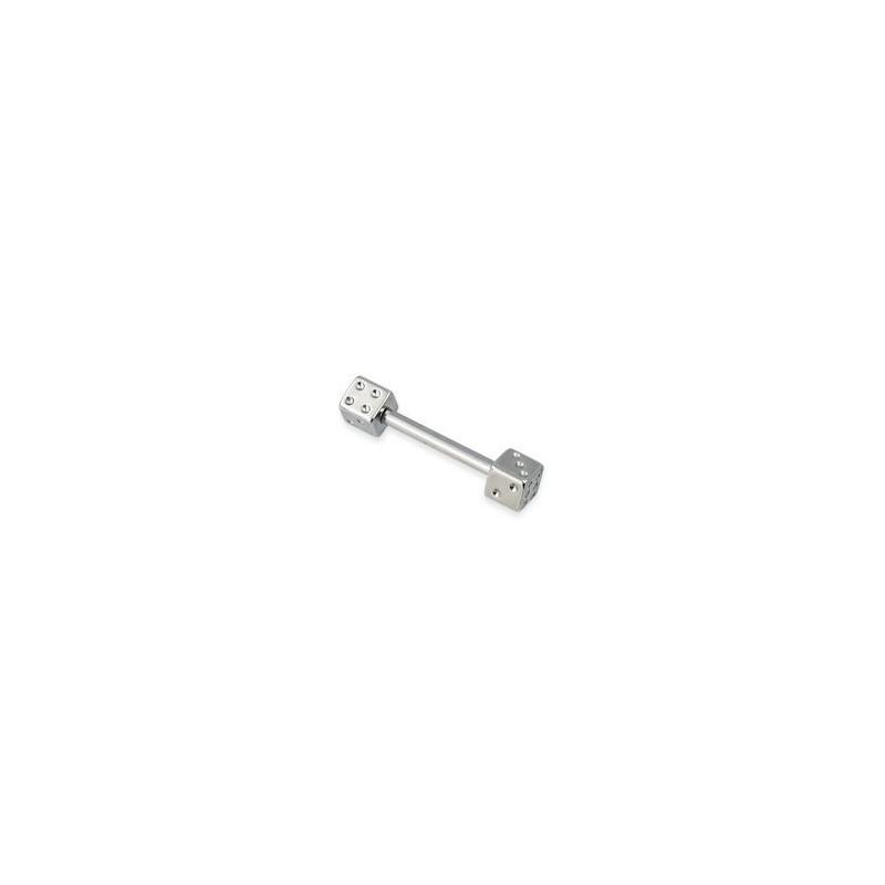 piercing t ton acier chirurgical avec barre et d jouer de 4mm. Black Bedroom Furniture Sets. Home Design Ideas