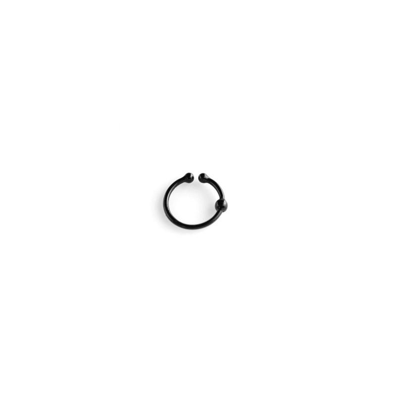Faux piercing anneau 10mm noir Samas Faux piercing3,60€