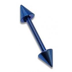 Piercing arcade droit bleu Chao