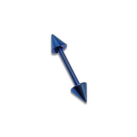 Piercing arcade 8mm droit bleu Chao ARC026