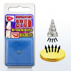 Faux piercing pointe acier Apat FAU058