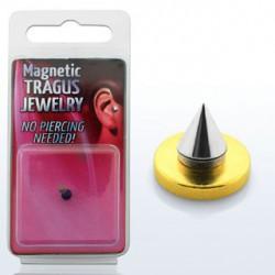 Faux piercing pointe acier de 3mm Apet FAU060