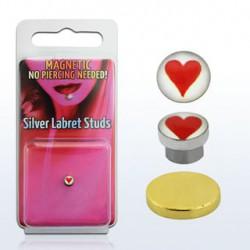 Faux piercing aimanté avec un cœur Molan Faux piercing4,85€