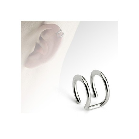 Faux piercing anneaux acier Apa FAU051