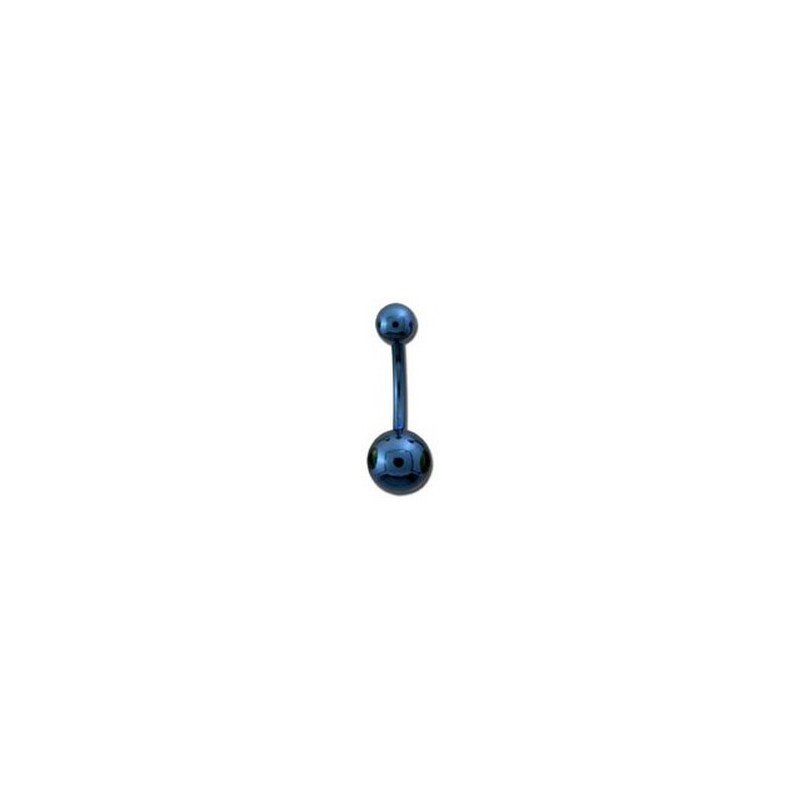 piercing nombril 8mm boule acier anodis bleu aryg 3 49. Black Bedroom Furniture Sets. Home Design Ideas