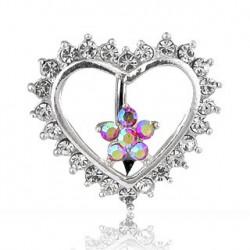 Piercing nombril inversé avec un cœur Alao Piercing nombril9,85€