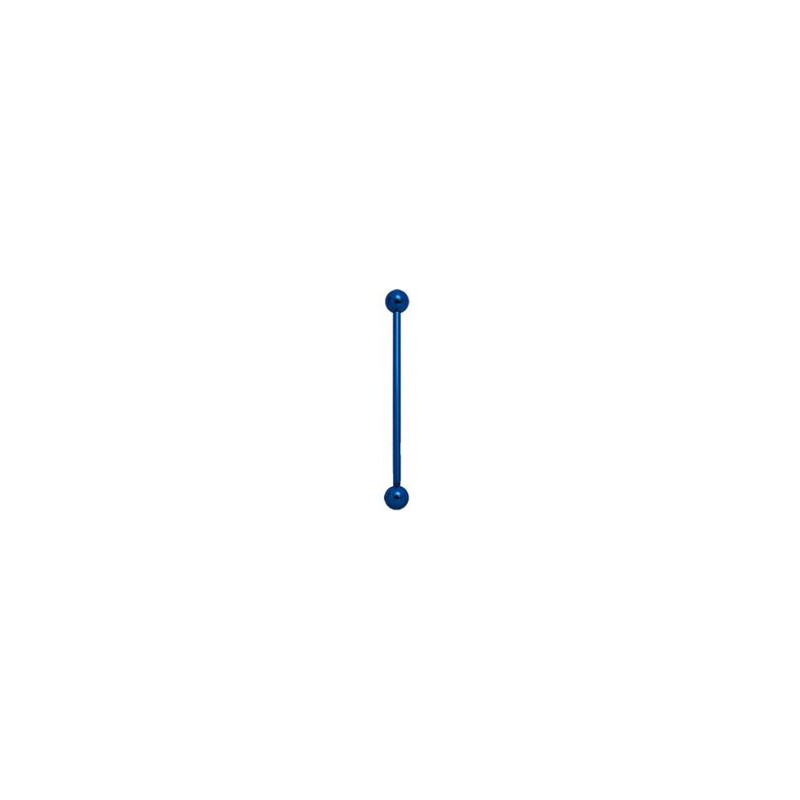 Piercing industriel boule bleu 35mm Paol Piercing oreille4,80€