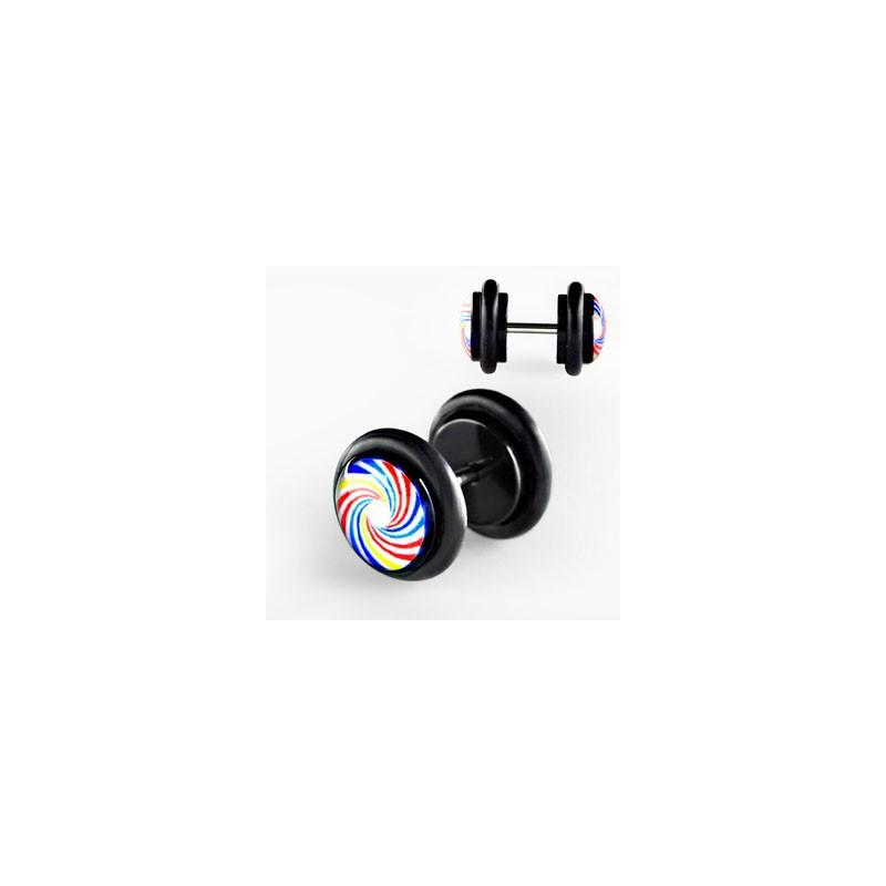 Faux piercing plug spirale Fufyn Faux piercing3,30€
