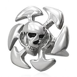 Faux piercing gothique tête de mort Xuc FAU020