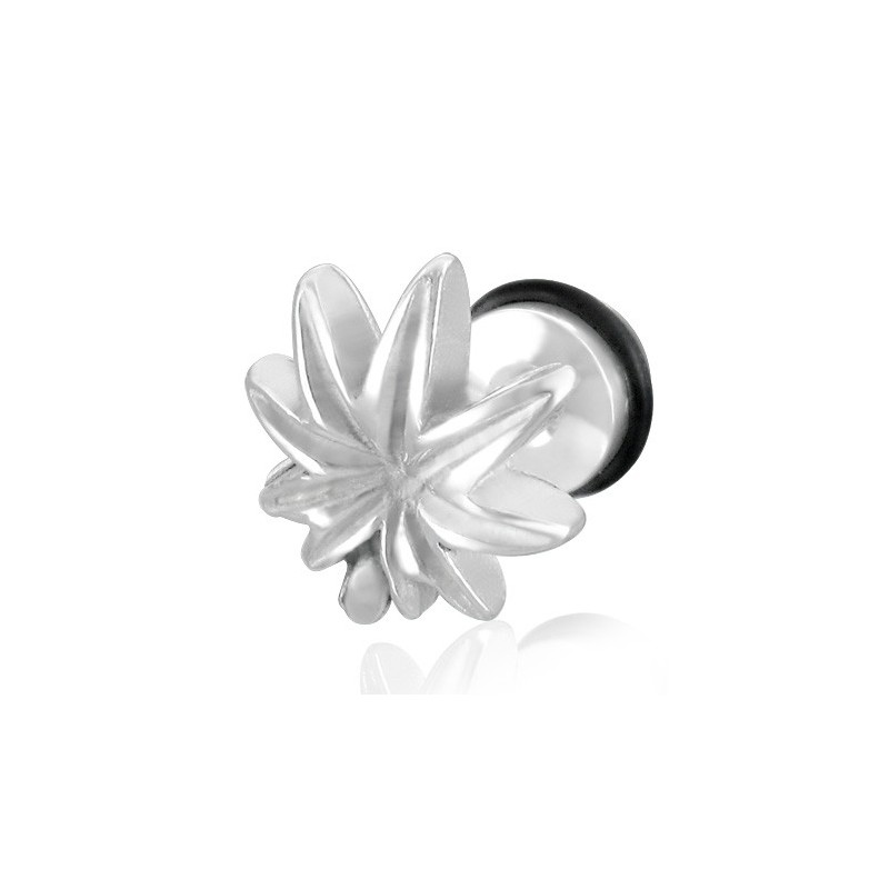 Faux piercing feuille de cannabis Xauc Faux piercing3,49€