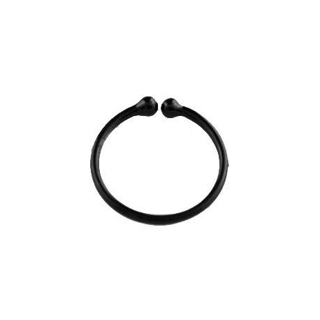 Faux piercing anneau 10mm noir Phut Faux piercing3,60€