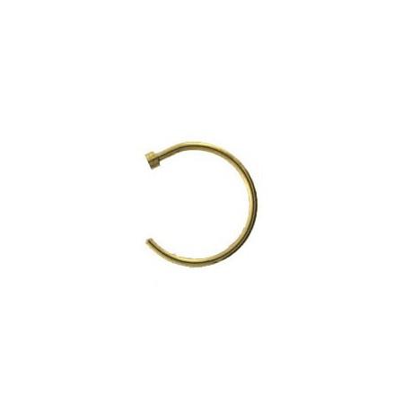 Faux piercing anneau 10 x 1mm doré Roba FAU057