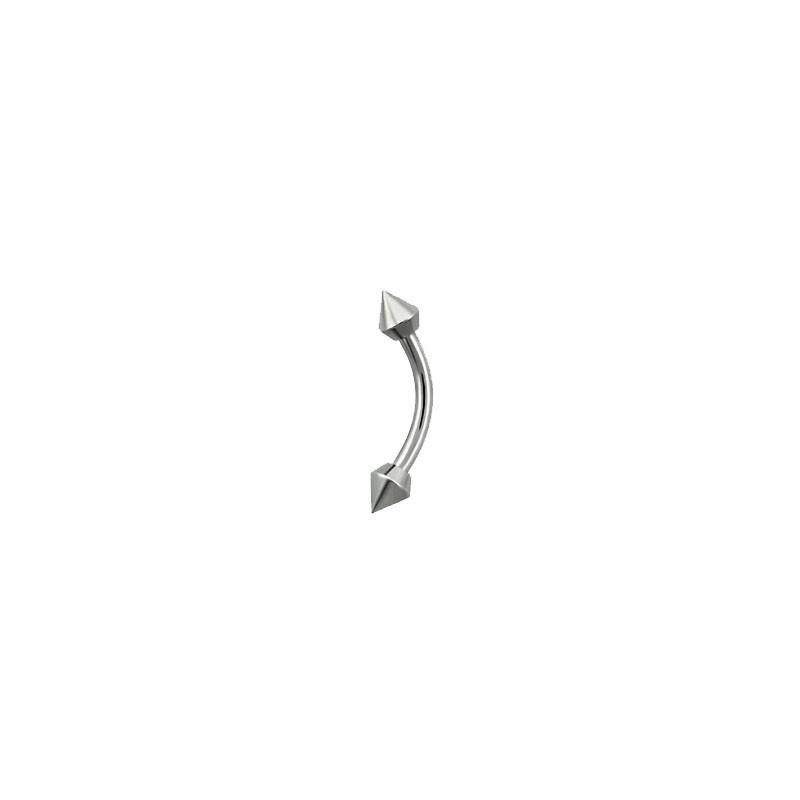 Piercing arcade acier 8 mm avec pointes de 3mm Sopa Piercing arcade1,99€