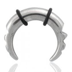 Piercing corne buffalo 3mm acier Puho COR051