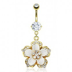 Piercing nombril fleur hawaienne Ruwit Piercing nombril9,80 €
