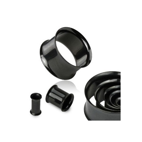 Piercing tunnel écarteur noir 42mm Wyx PLU062
