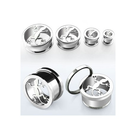 Piercing tunnel salamandre 25mm Sylit Piercing oreille13,99 €