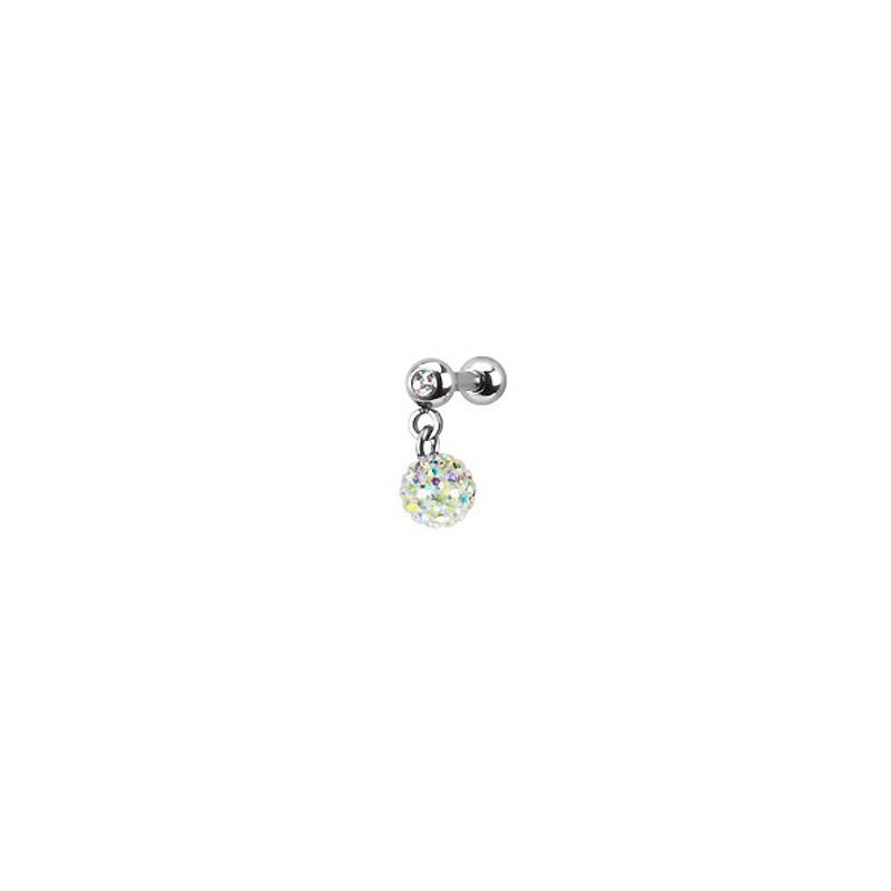 Piercing oreille tragus boule aurore boréale Pha Piercing oreille8,49€