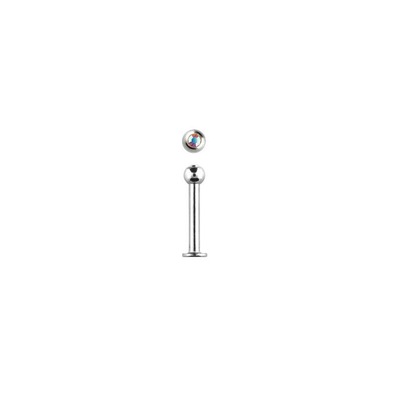 Piercing labret lèvre 10mm aurore boréale Piercing labret3,49€