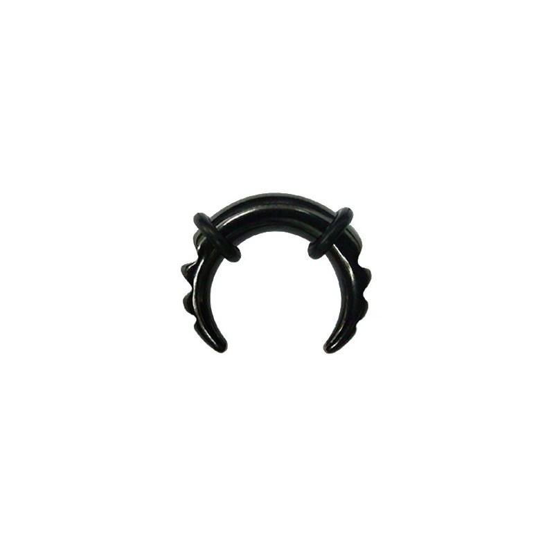 Piercing corne buffalo 1,6 mm noir Phy Piercing oreille4,80€