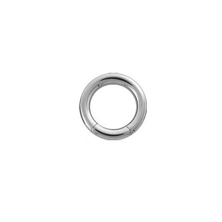 Piercing anneau 16 x 3mm à segment en acier Hazy Piercing oreille4,75€