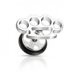 Faux piercing oreille plug en forme de coup de poing Amul Faux piercing4,49€
