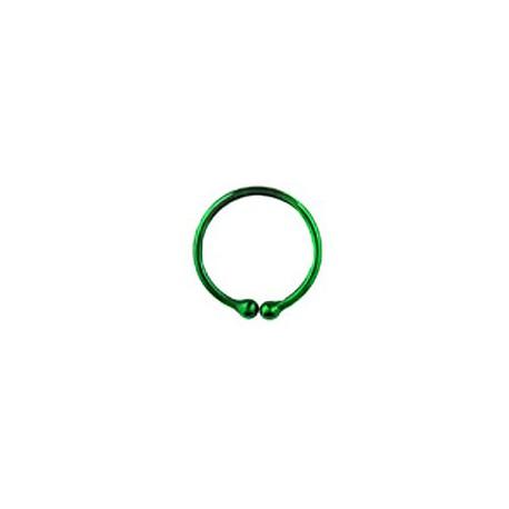 Faux piercing anneau vert 12mm Phutyt Faux piercing3,60€