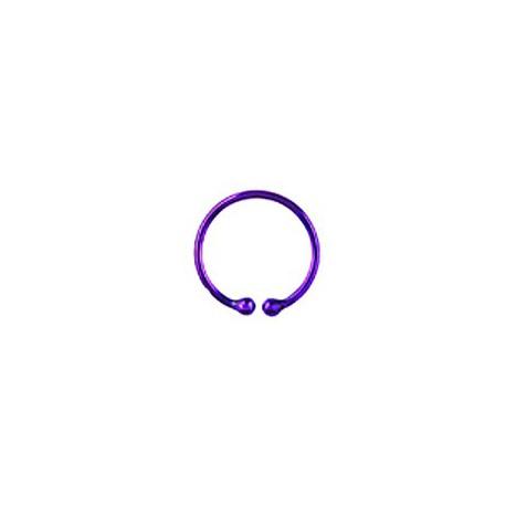 Faux piercing anneau violet 12mm Fare Faux piercing3,60€
