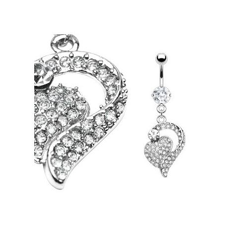 Piercing nombril avec des cœurs entrelacés Alyo Piercing nombril15,90€
