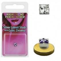 Faux piercing aimanté labret blanc Peal Faux piercing6,60€