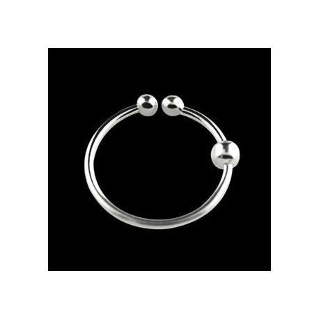 Faux piercing anneau 6mm plaqué argent Nar Faux piercing3,70€