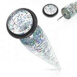 Faux piercing oreille écarteur multi paillettes Gruot Faux piercing3,30€