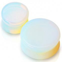 Piercing plug pierre opaline 19mm Soram PLU003