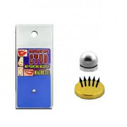 Faux piercing aimanté boule acier 4mm Pyt FAU163