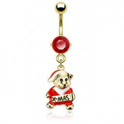 Piercing nombril rouge avec l'ours de Noël Ryt Piercing nombril7,49 €