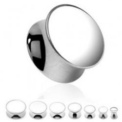 Piercing plug acier 12mm Sinjai
