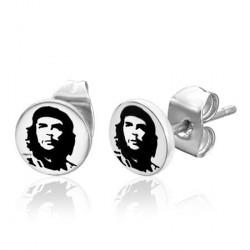 Puces d'oreilles avec le logo Che Guevara Wazs PUC057