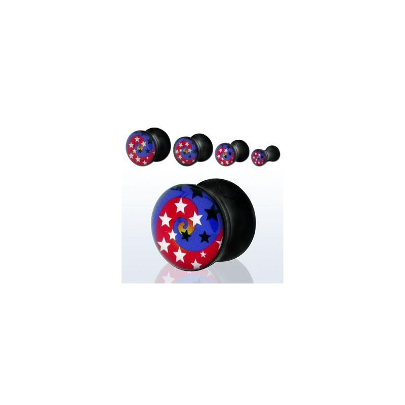 Piercing plug étoiles 12mm Wasai Piercing oreille4,99€