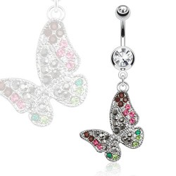 Piercing nombril pendentif papillon Baht Piercing nombril8,85 €