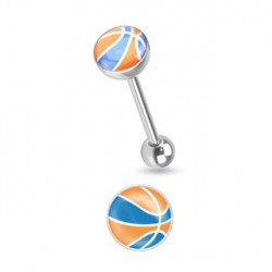 Piercing langue bleu et orange acier Tayt Piercing langue3,80 €