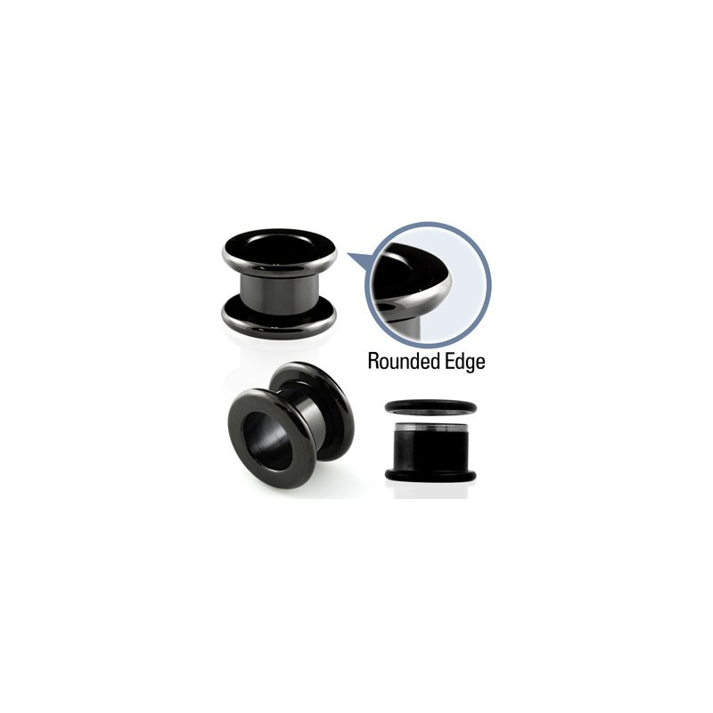 Piercing tunnel noir 3mm Vithee Piercing oreille3,99 €