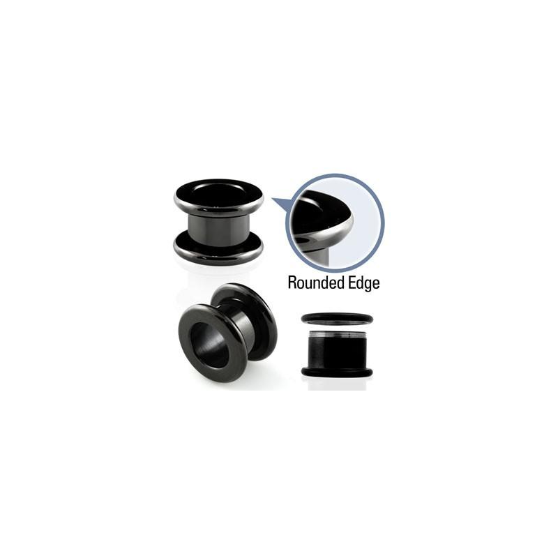 Piercing tunnel noir 5mm Pukk Piercing oreille4,49€