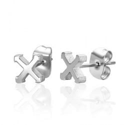Puces oreilles avec une croix Dasas Bijoux3,49€