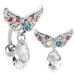 Piercing nombril inversé d'ailes d'anges Was Piercing nombril9,60€