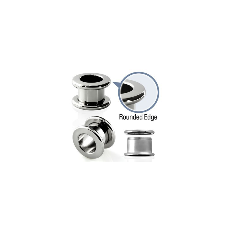 Piercing tunnel acier 10mm Patsa Piercing oreille6,49€