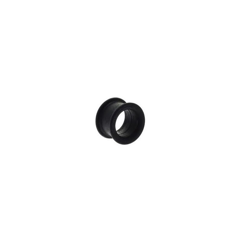 Piercing tunnel silicone noir 4mm Phai Piercing oreille3,80€
