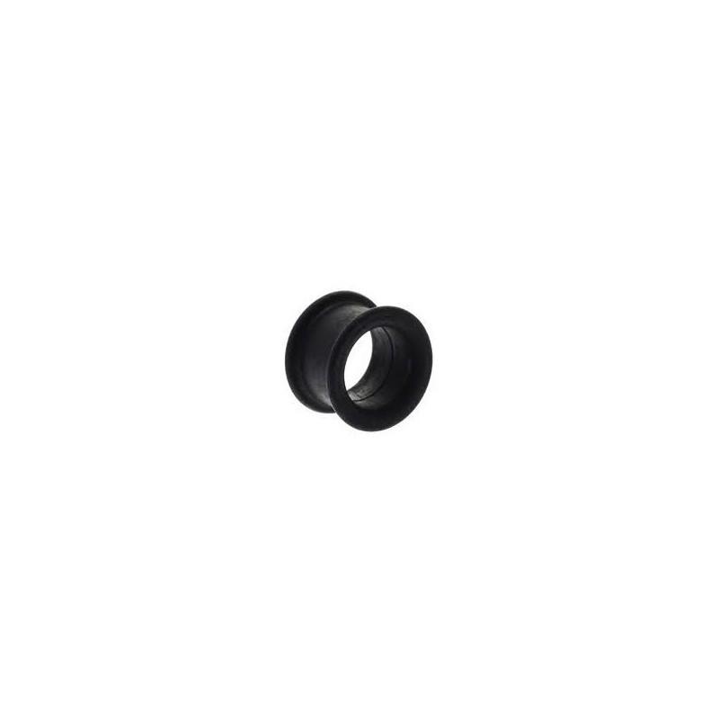 Piercing tunnel silicone noir 5mm Poon Piercing oreille3,80€