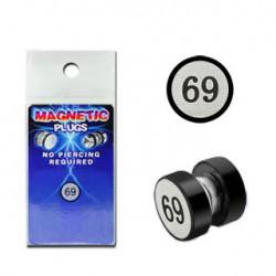 Faux piercing plug aimanté 69 Cerop FAU210