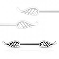 Piercing téton 11mm ailes d'ange Daro Piercing téton4,49€