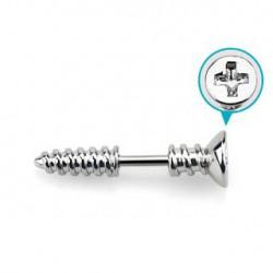 Piercing hélix 6mm vis acier Rulf HEL001